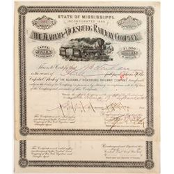 Alabama and Vicksburg Railway Company