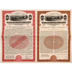 Albany and Susquehanna Railroad Company Bonds