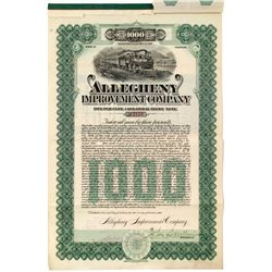 Allegheny Improvement Company Collateral Trust Note