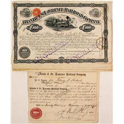 Atlantic & St. Lawrence Railroad Company