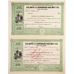 Atlantic & Suburban Railway Company