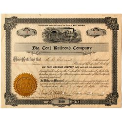 Big Coal Railroad Company