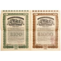 Birmingham & Southeastern Railway Co. 1st Mortgage Bonds
