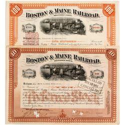 Boston & Maine Railroad Preferred Stock