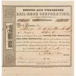 Boston and Worcester Rail-Road Corporation
