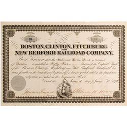 Boston, Clinton, Fitchburg New Bedroad Railroad Co
