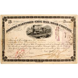 Boston, Hartford and Erie Railroad Company
