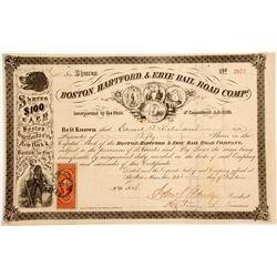 Boston, Hartford, & Erie Rail Road Company