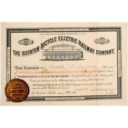 Boynton Bicycle Electric Railway Company