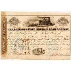 Buffalo & State Line Rail Road Company