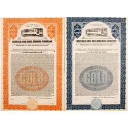 Buffalo and Erie Railway Company Gold Bonds
