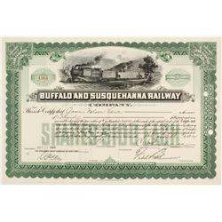Buffalo and Susquehanna Railway Co