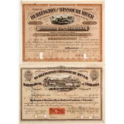 Burlington & Missouri River RR Co. in Nebraska