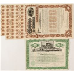 Central of Georgia Railway Company Bonds