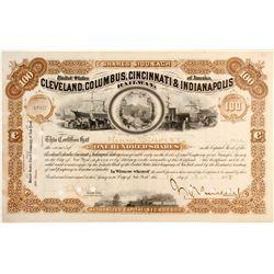 Cleveland, Columbus, Cincinnati & Indianapolis Railway Stock