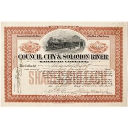 Council City & Solomon River Railroad Company