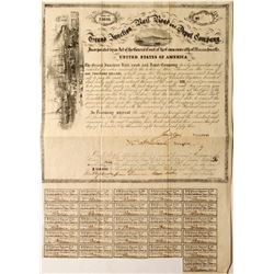 Grand Junction Rail Road and Depot Co Bond
