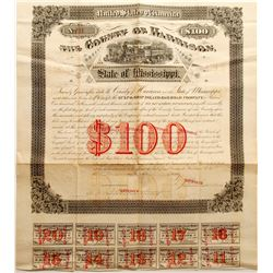 Gulf & Ship Island Railroad Co Bond