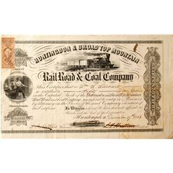 Huntingdon & Broad Top Mountain Rail Road & Coal Co Stock