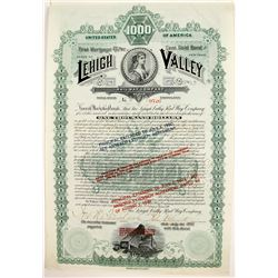 Lehigh Valley Railway Bond