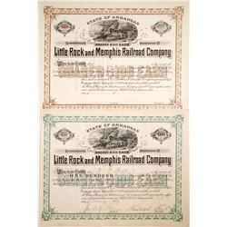 Little Rock and Memphis Railroad Stocks (2)
