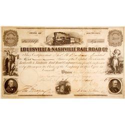 Louisville & Nashville Railroad Stock