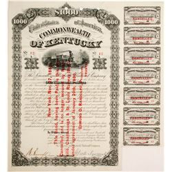 Louisville and Nashville Railroad Bond, #12