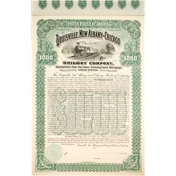 Louisville, New Albany and Chicago Railway Bond