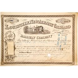 Louisville, New Albany and Chicago Railway Stock