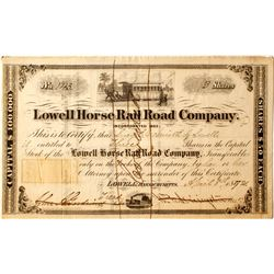 Lowell Horse Rail Road Co Stock