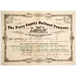 Perry County Railroad Stock, #11