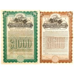 Phoenixville, Valley Forge & Stafford Electric Railway Bonds