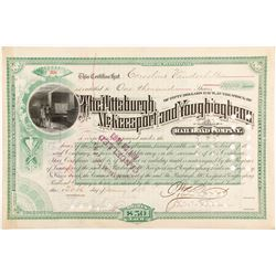 Pittsburgh, McKeesport and Youghiogheny Railroad Stock