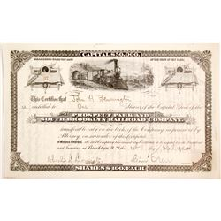 Prospect Park and South Brooklyn Railroad Bond
