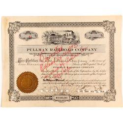 Pullman Railroad Stock