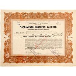 Sacramento Northern Railroad Stock