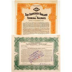 San Francisco-Oakland Terminal Railways Stock and Bond