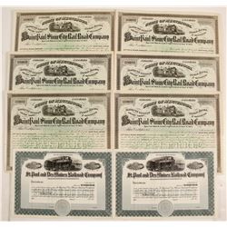 St Paul and Des Moines & St Paul & Stone City Railroad Co stock