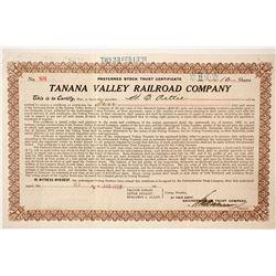 Tanana Valley Railroad Company