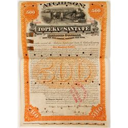 Topeka and Santa Fe Railroad Co. Gold Bond