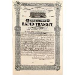 Tucson Rapid Transit Bond