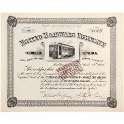 United Railways Co Stock
