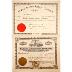 Unlisted and Unissued Railroad Stocks (2)