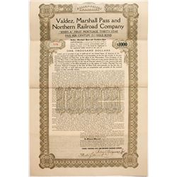 Valdez, Marshall Pass & No Railroad Co
