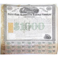 Flint and Pere Marquette Railway Bond