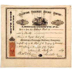 Allentown Passenger Railway Company