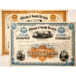 Chicago  South Western Railway Co stock