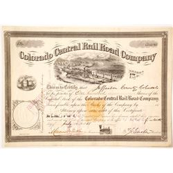 Colorado Central Rail Road Company