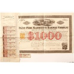 Flint & Pere Marquette Railway Co bond, RN