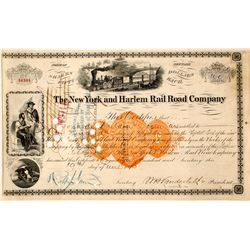 New York and Harlem Rail Raod Company stock
